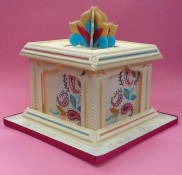 Indian theme cake