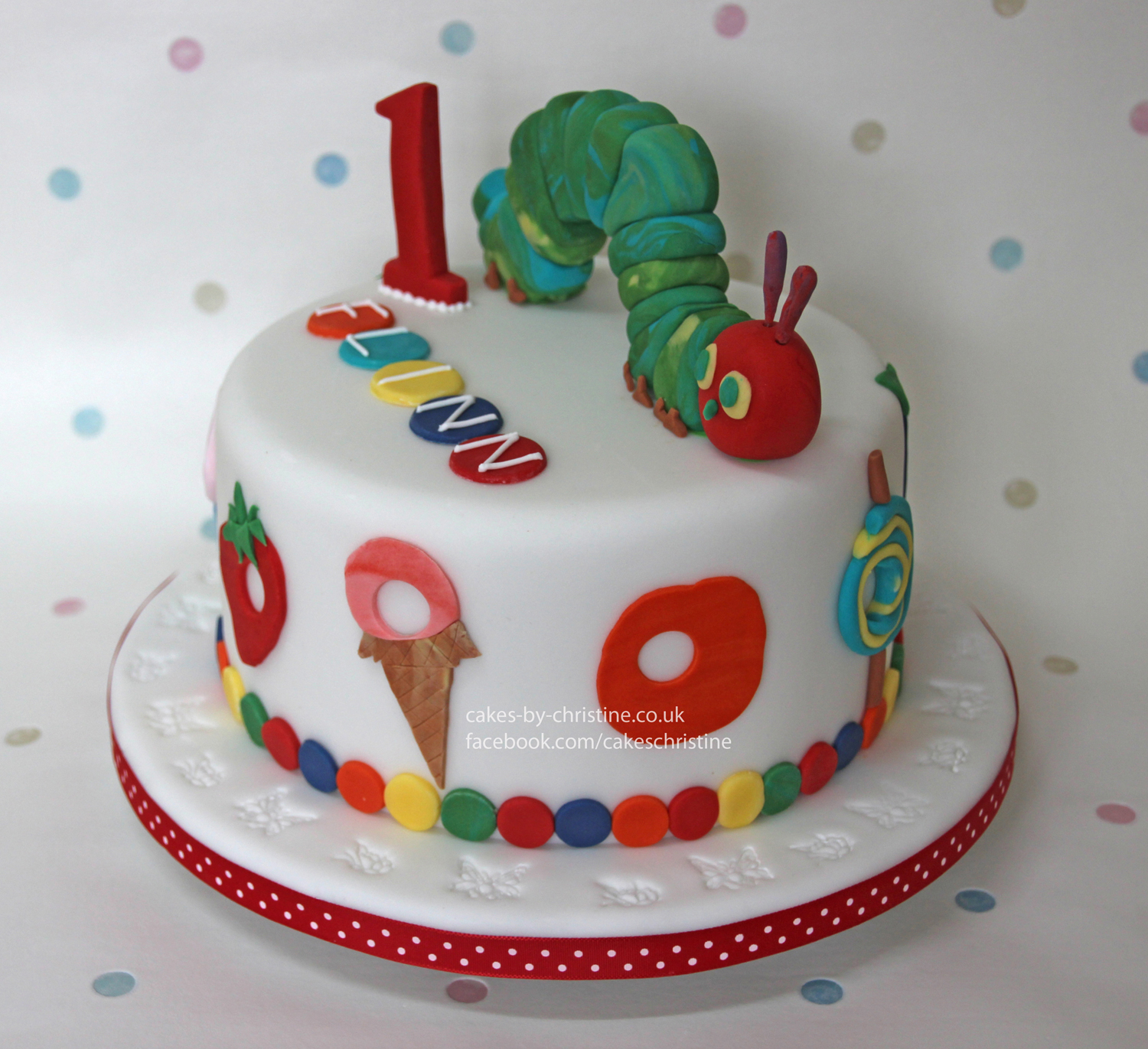 The Very Hungry Caterpillar Cake Cakes By Christine