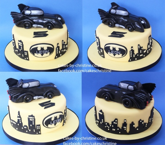 Batmobile cake - version 2