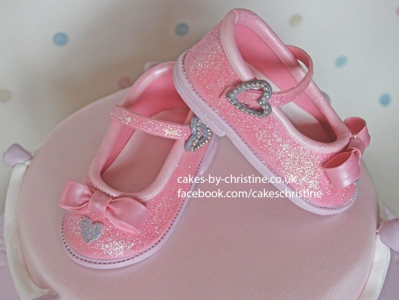 Princess Shoes Birthday Cake