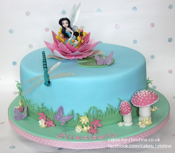 Silvermist Fairy Cake
