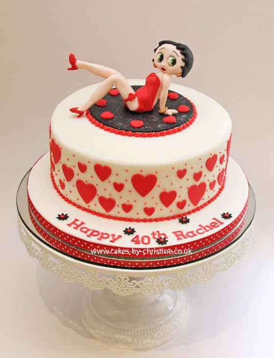 Betty Boop for a 40th Birthday