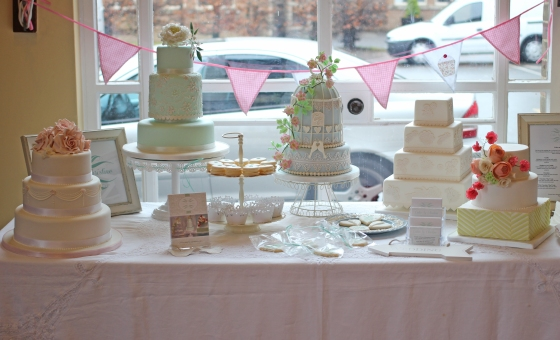 My collection of wedding cakes