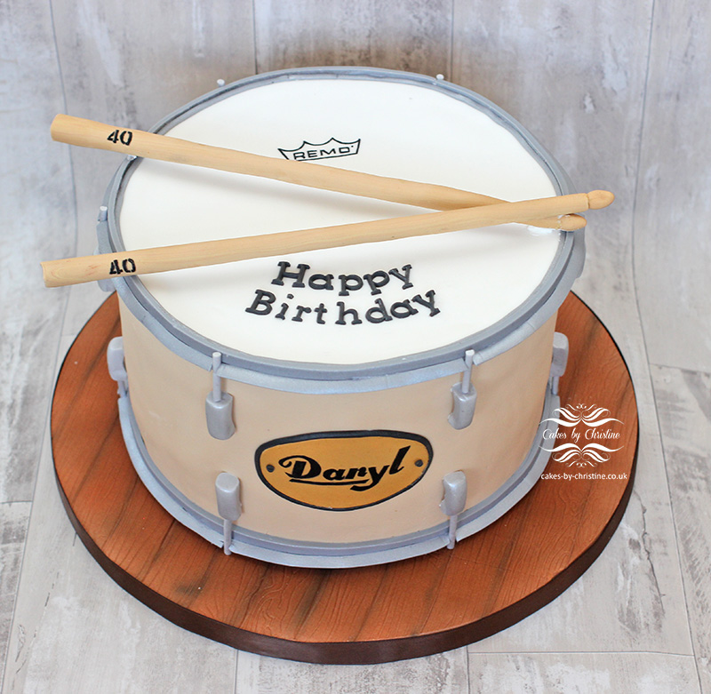 Drum Set Cake Images