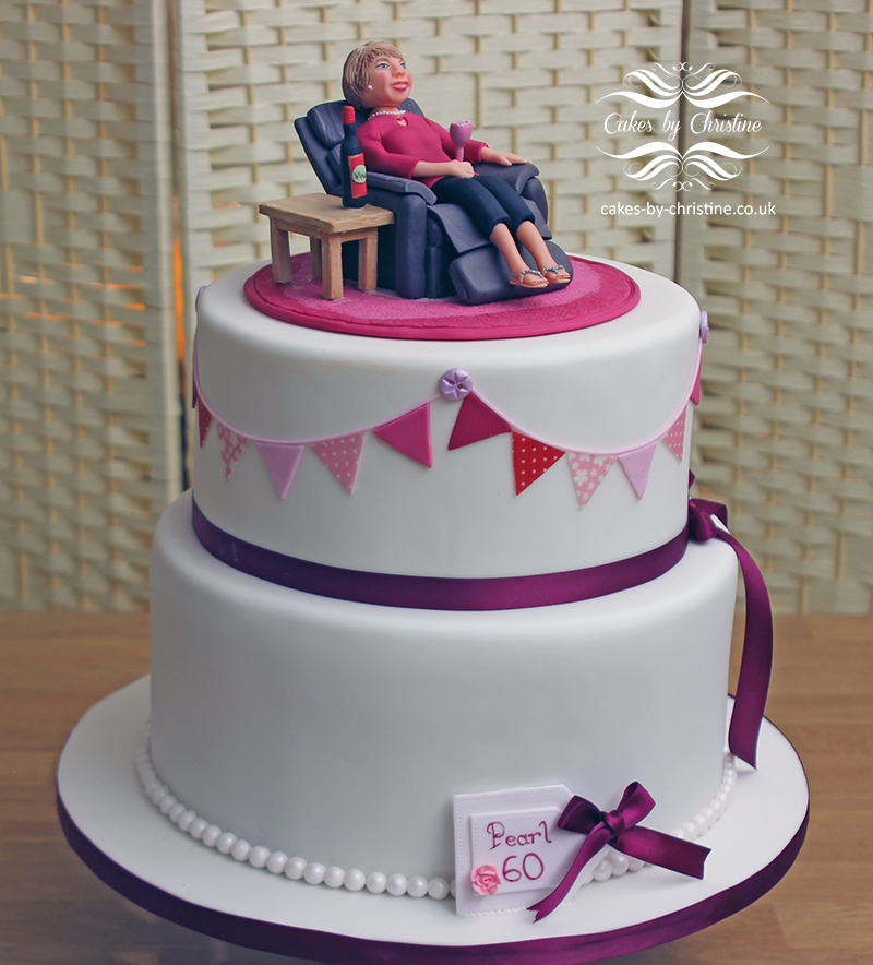 2 Tier Birthday Cake Pearl60 Pearlcake Copy